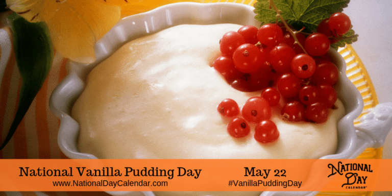 National Vanilla Pudding Day