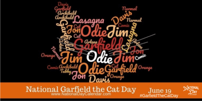 NATIONAL GARFIELD THE CAT DAY
