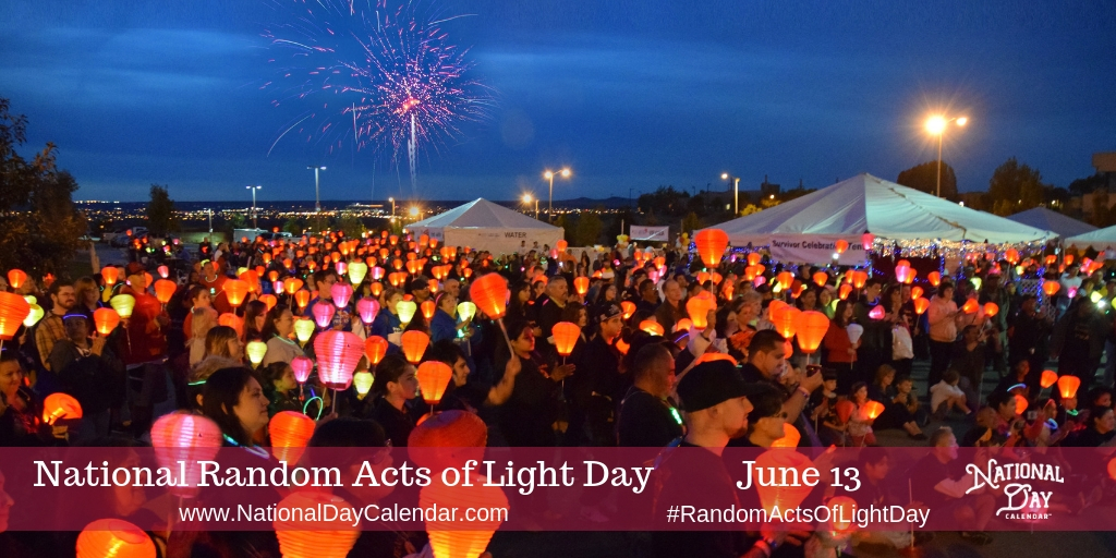 NATIONAL RANDOM ACTS OF LIGHT DAY