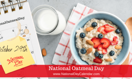 NATIONAL OATMEAL DAY