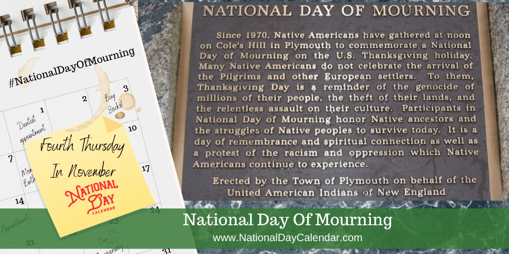 NATIONAL DAY OF MOURNING