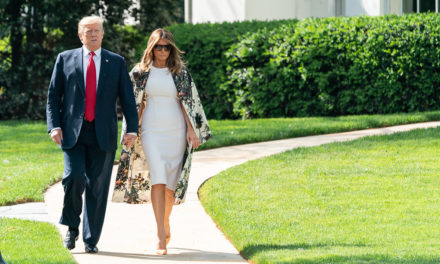POTUS and FLOTUS Participate In A Wreath Laying Ceremony