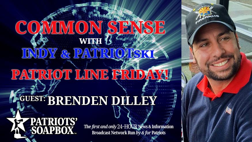 Ep. 201 Patriot Line Friday, Discussion With Dilley & Special Guest