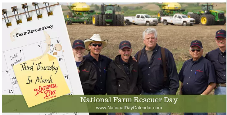National Farm Rescuer Day