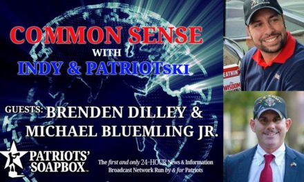 Ep. 216 Patriot Line Friday, Dilley & Interview With Michael Bluemling